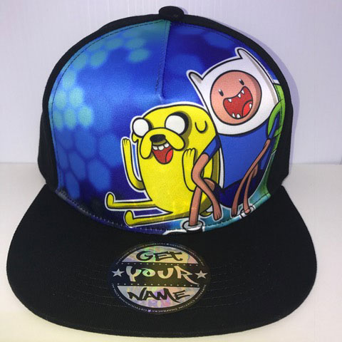 Adventure Time Airbrushed Hat