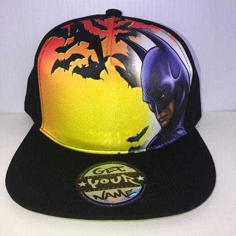 Batman Airbrushed Hat