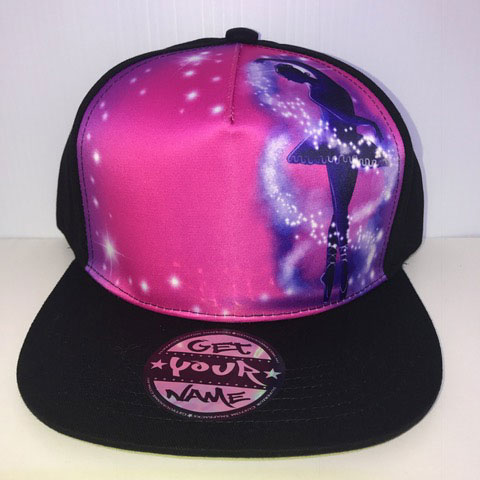 Dancer Airbrushed Hat