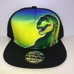 Dinosaur Airbrushed Hat