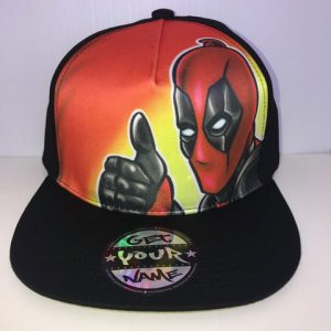 Deadpool Airbrushed Hat