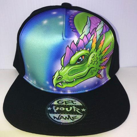 Dragon Airbrushed Hat