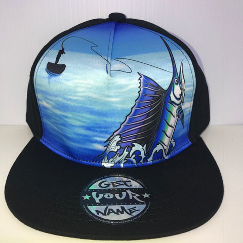 Fishing Airbrushed Hat