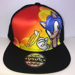 Sonic Airbrushed Hat