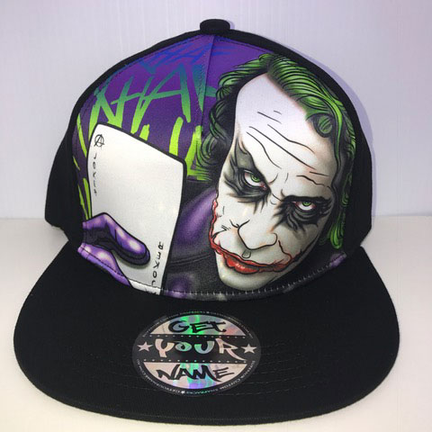 Joker Airbrushed Hat