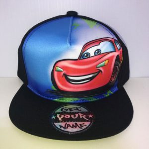 Lightning Airbrushed Hat