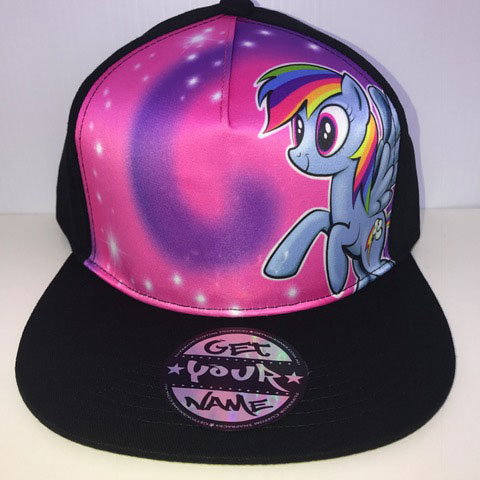 My Little Pony Airbrushed Hat