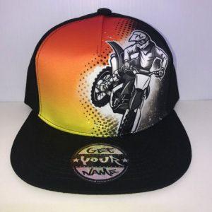 Motox Airbrushed Hat