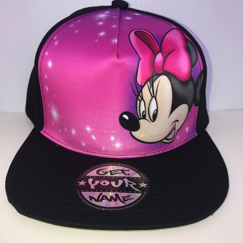 Minnie Airbrushed Hat