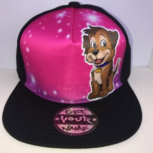 Puppy Airbrushed Hat