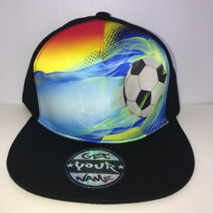 Soccer Airbrushed Hat