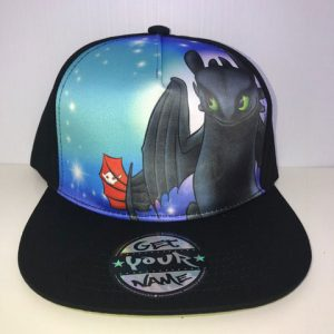 Toothless Airbrushed Hat