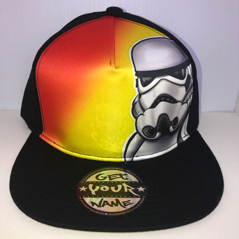 Trooper Airbrushed Hat