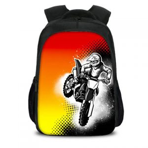 Motox Airbrushed Backpack