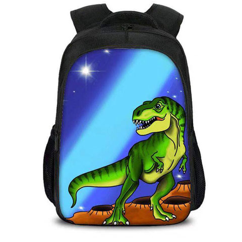 Dino Airbrushed Backpack
