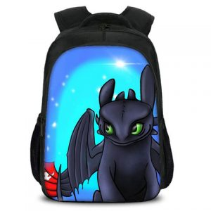 Toothless Airbrushed Backpack
