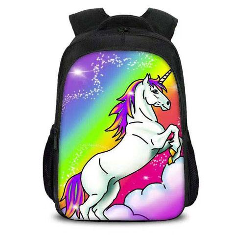 Unicorn Airbrushed Backpack