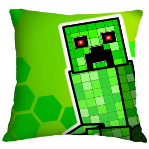 Minecraft Airbrushed Cushion Cover