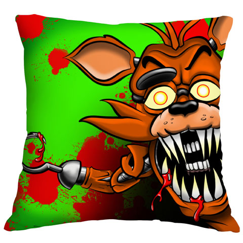 Foxi Airbrushed Cushion Cover