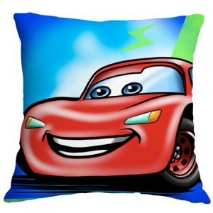 Lightning Airbrushed Cushion Cover