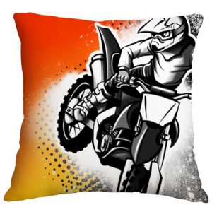 Motox Airbrushed Cushion Cover