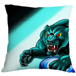 Panther Airbrushed Cushion Cover