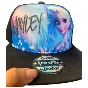 Frozen Airbrushed Hat