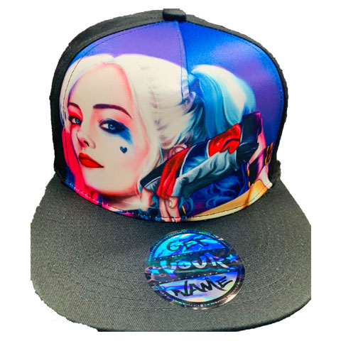 Harley Quinn Airbrushed Hat