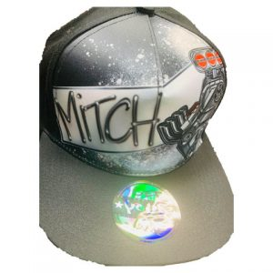 Motor Airbrushed Hat