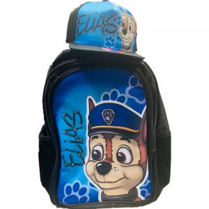 Chase Airbrushed Hat and Backpack Set