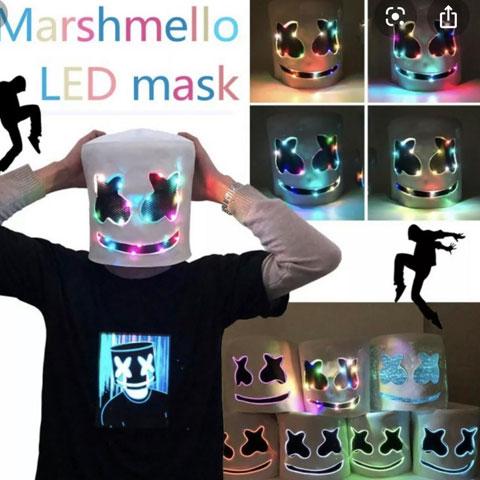 led-marshmello-mask